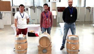 A Meilleur Apprenti de la Gironde receives the silver medal at Leroi