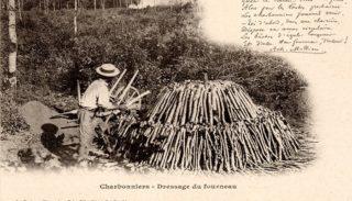 10 – The Forest in Nivernais – Coalmen – Kiln construction