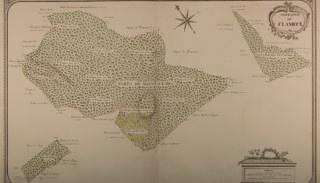 Map of the Mont-le-Duc forest extracted from the Atlas des Bois dépendans des duchés de Nivernois et Donziois (1789)