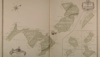 Map of the ducal forests around Champallement (1789)
