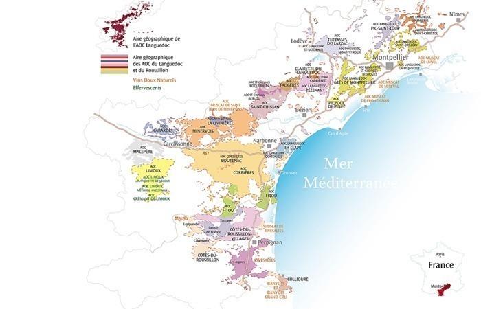 nimes region languedoc roussillon