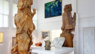 Exhibition The dreamer of the forest at the Musée Zadkine
