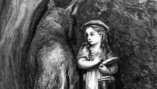La petite fille et le loup