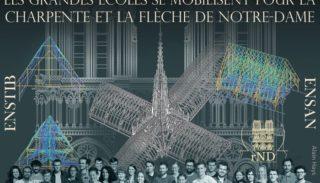 Projets de reconstruction de la charpente et de la flèche de Notre-Dame de Paris